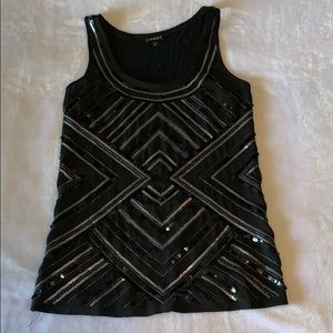 Express sequence tank top
